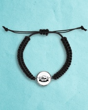 HOCKEY MOM MAFIA Cord Circle Bracelet aos-bracelet-cord-front-lifestyle-8