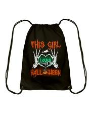 THIS GIRL LOVES HALLOWEEN Drawstring Bag thumbnail