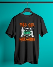 THIS GIRL LOVES HALLOWEEN Classic T-Shirt lifestyle-mens-crewneck-front-3