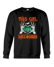 THIS GIRL LOVES HALLOWEEN Crewneck Sweatshirt thumbnail