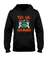 THIS GIRL LOVES HALLOWEEN Hooded Sweatshirt thumbnail