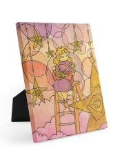 Star harvester 8x10 Easel-Back Gallery Wrapped Canvas thumbnail