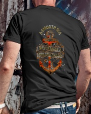 Calm Seas Never Made a Skilled Sailor Shirt Classic T-Shirt lifestyle-mens-crewneck-back-2