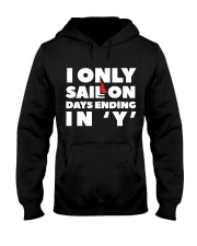 Sailing  hoodie  for Yachting fans  Hooded Sweatshirt front