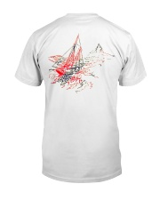 Sailing Apparel for Yachting fans - Sailboat Classic T-Shirt back