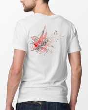 Sailing Apparel for Yachting fans - Sailboat Classic T-Shirt lifestyle-mens-crewneck-back-5