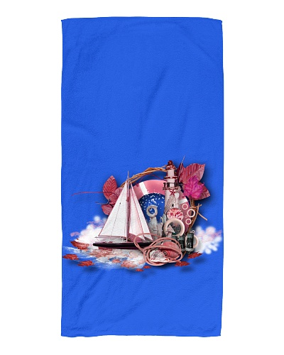Beach Towel - For the beach or on a sailboat