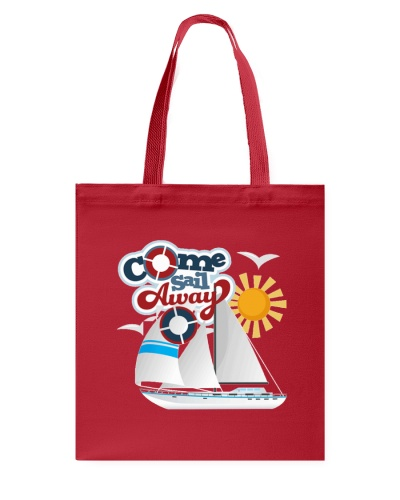 Sail Away Tote Bag- Sailing Apparel and accesories