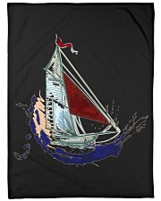 "Sailboat Fleece Blanket - Large  Large Fleece Blanket - 60"" x 80"" front"
