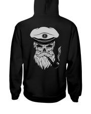 Sailing apparel  for Yachting fans - Skull Sailor Hooded Sweatshirt back
