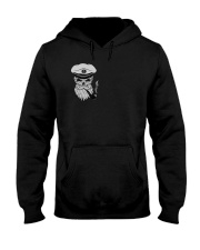 Sailing apparel  for Yachting fans - Skull Sailor Hooded Sweatshirt front