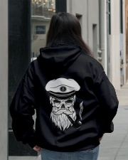 Sailing apparel  for Yachting fans - Skull Sailor Hooded Sweatshirt lifestyle-unisex-hoodie-back-2