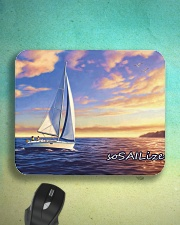 Sailboat pc Mousepad with  sailing design  Mousepad aos-mousepad-front-lifestyle-3