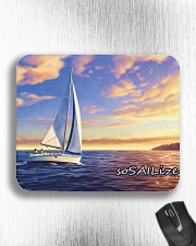 Sailboat pc Mousepad with  sailing design  Mousepad aos-mousepad-front-lifestyle-4