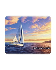 Sailboat pc Mousepad with  sailing design  Mousepad front