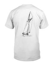 Sailing Shirt - Sailboat Art Collection  Classic T-Shirt back