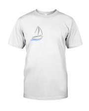 Sailing Shirt - Sailboat Art Collection  Classic T-Shirt front