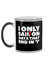 Sailing Coffee Mug - Color Changing Cup  Color Changing Mug color-changing-left