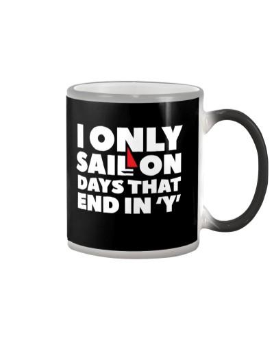 Sailing Coffee Mug - Color Changing Cup