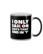 Sailing Coffee Mug - Color Changing Cup  Color Changing Mug color-changing-right