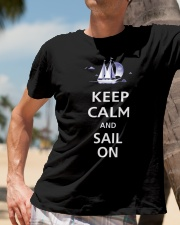 Sailing T-shirts - Custom Shirts for Yachting Fans Classic T-Shirt lifestyle-mens-crewneck-front-11