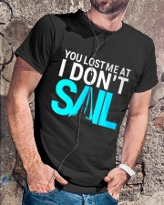 Sailing clothes - Yachting apparel  Classic T-Shirt lifestyle-mens-crewneck-front-4