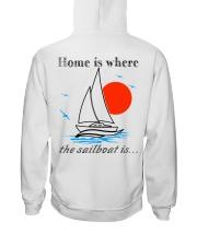 Sailing clothes - Yachting apparel  Hooded Sweatshirt back