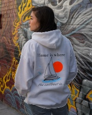 Sailing clothes - Yachting apparel  Hooded Sweatshirt lifestyle-unisex-hoodie-back-1