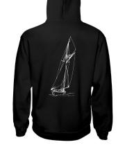 Unisex  Sailing Hoodies - Sailboat collection  Hooded Sweatshirt back