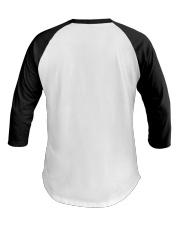 Sailing shirts - Yachting apparel - captain-skull Baseball Tee back