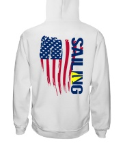 Sailing Shirts - American Sailing- Ahoy Sailor  Hooded Sweatshirt back