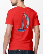 Sailing Clothes for Yachting fans - Sailboat Classic T-Shirt lifestyle-mens-crewneck-back-5