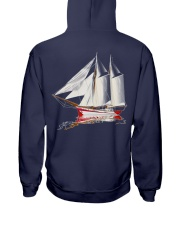 Sailing Apparel  - Sailboat art collection Hooded Sweatshirt back