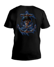 Pirates Of The Caribbean T-Shirts V-Neck T-Shirt back