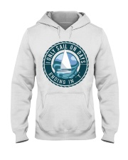 Sailing clothes - Apparel for yachting fans  Hooded Sweatshirt front