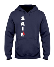 Sailing Clothes for Yachting fans - Sailboat  Hooded Sweatshirt front