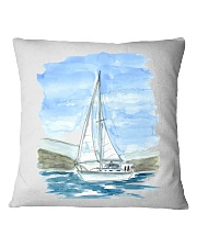 Sailboat Pillow Case - Sailing Apparel Square Pillowcase front