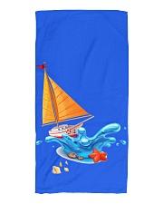 Shop Sailboat Beach Towel for seaside or Sailing Beach Towel front