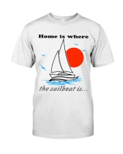 Sailing clothes - Yachting apparel  Classic T-Shirt front
