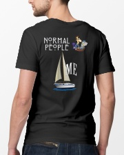 Buy Normal People Vs Me Funny Sailing shirt  Classic T-Shirt lifestyle-mens-crewneck-back-5