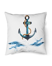 "Sailing Pillows for your Sailboat or Home Indoor Pillow - 18"" x 18"" back"