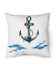 "Sailing Pillows for your Sailboat or Home Indoor Pillow - 18"" x 18"" front"