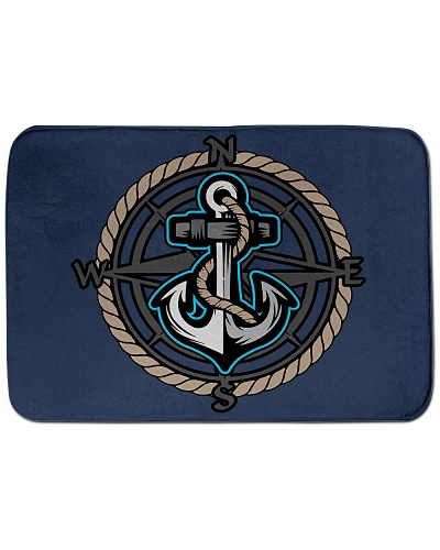 Sailing Bath Mat - Nautical Designs