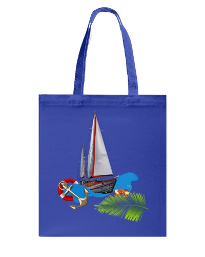 Sailboat Tote Bag- Sailing Apparel and accesories