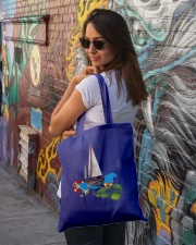 Sailboat Tote Bag- Sailing Apparel and accesories Tote Bag lifestyle-totebag-front-1