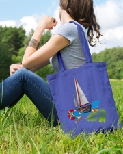 Sailboat Tote Bag- Sailing Apparel and accesories Tote Bag lifestyle-totebag-front-6