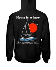 Sailing clothes - Yachting apparel  Hooded Sweatshirt back