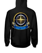 Sailing clothes - Yachting apparel - Navigator  Hooded Sweatshirt back