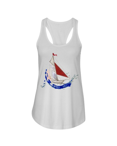 Women's Flowy Tank Top - Ladies Sailing Clothes