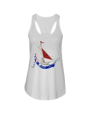 Women's Flowy Tank Top - Ladies Sailing Clothes Ladies Flowy Tank front